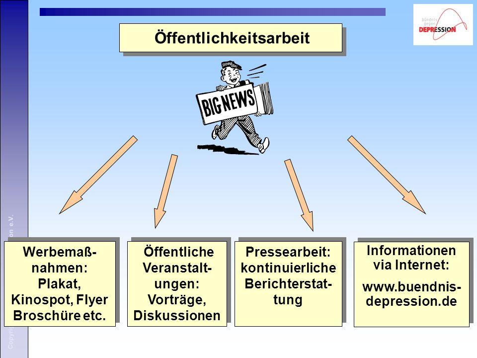 Copyright: Bündnis gegen Depression e.V.Das Deutsche Bündnis gegen Depression e.V.
