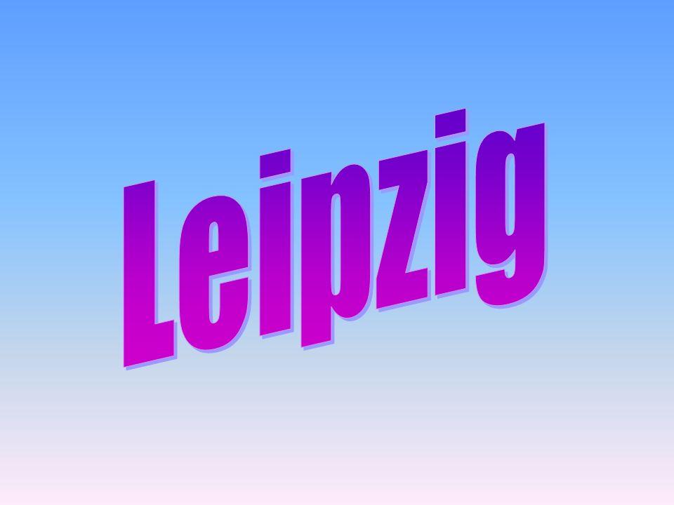 Leipzig ist eine Stadt in Ost-Deutschland WeiterMenü