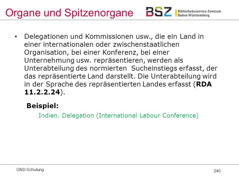 240 Delegationen und Kommissionen usw., die ein Land in einer internationalen oder zwischenstaatlichen Organisation, bei einer Konferenz, bei einer Unternehmung usw.