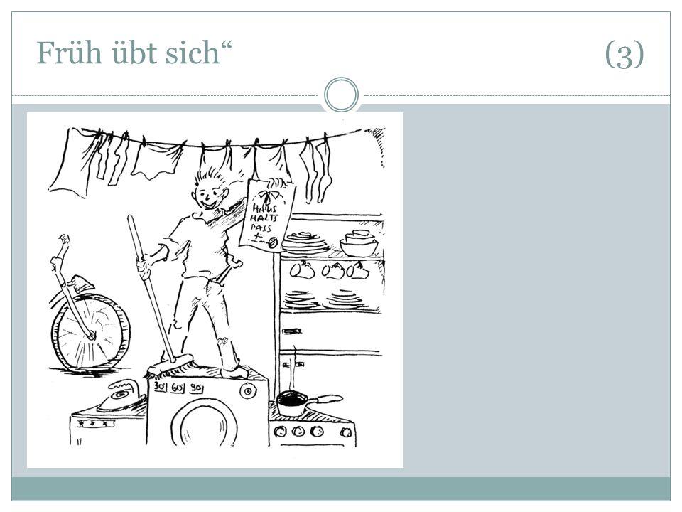 """Früh übt sich"""" (3)"""