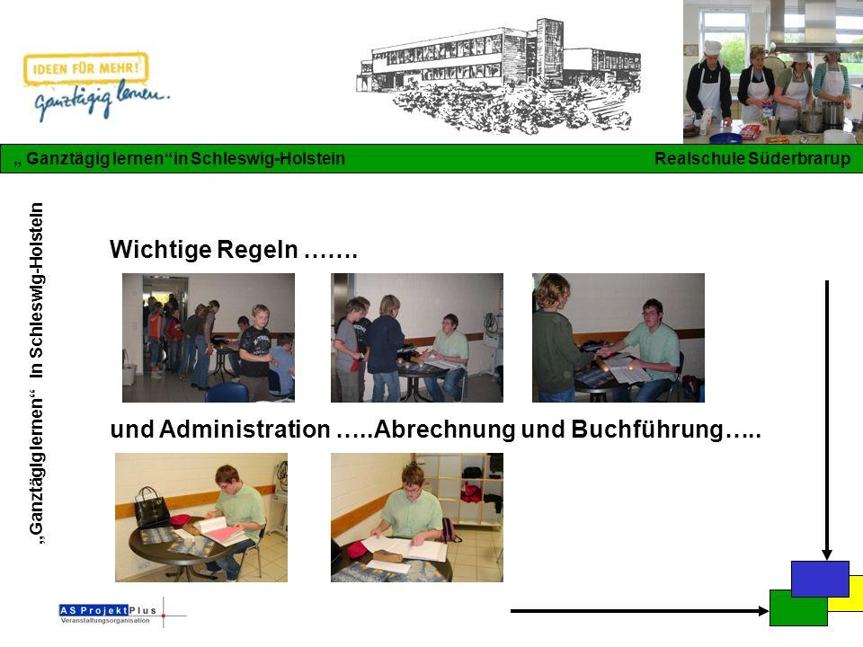 """""""Ganztägig lernen in Schleswig-Holstein """" Ganztägig lernen in Schleswig-Holstein Realschule Süderbrarup Wichtige Regeln ……."""