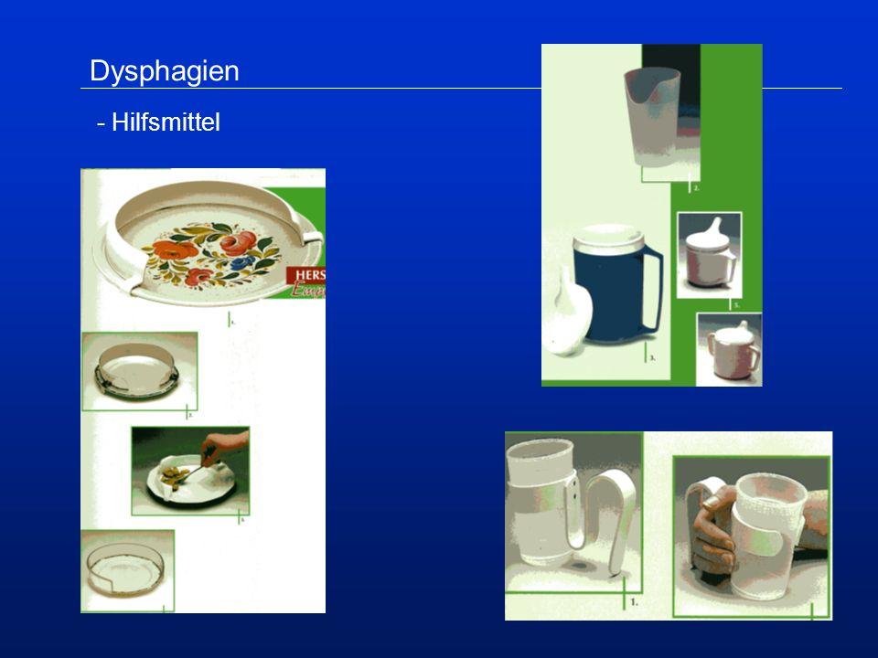Dysphagien - Hilfsmittel