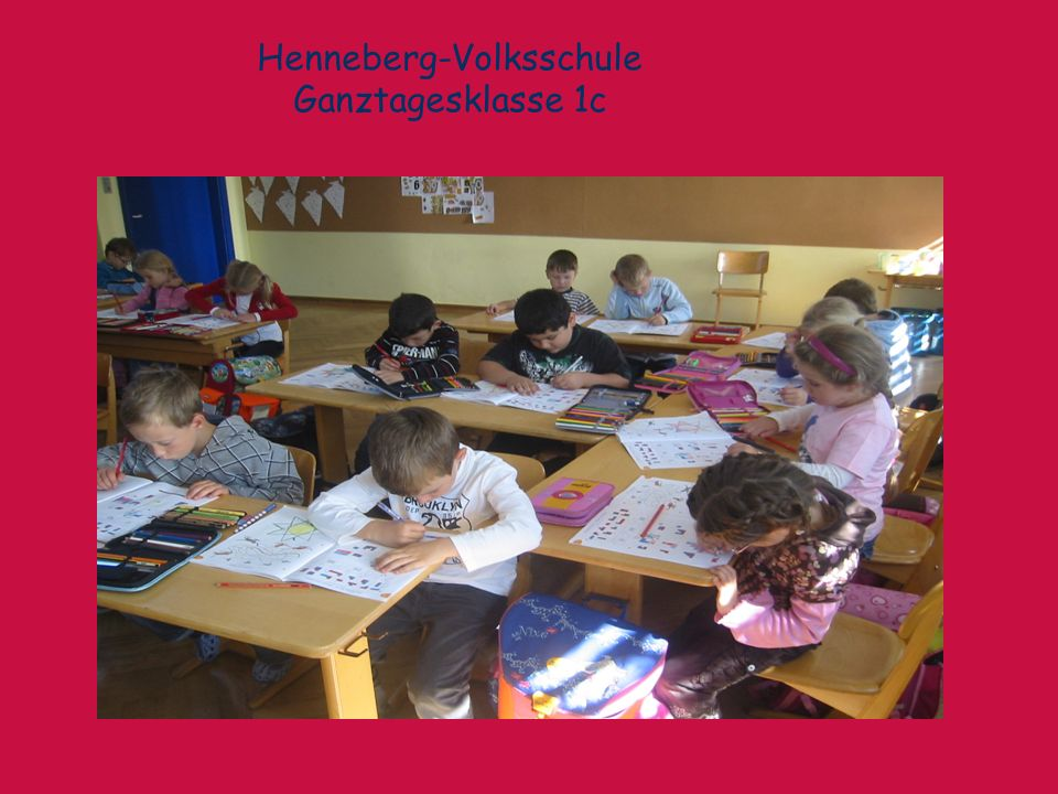 Henneberg-Volksschule Ganztagesklasse 1c