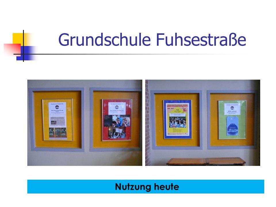 Grundschule Fuhsestraße Nutzung heute