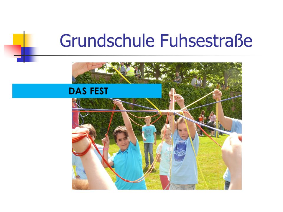 Grundschule Fuhsestraße Freunde finden.