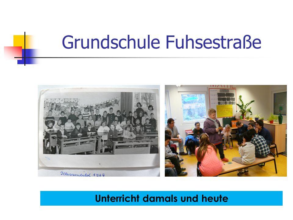 Grundschule Fuhsestraße Unterricht damals und heute