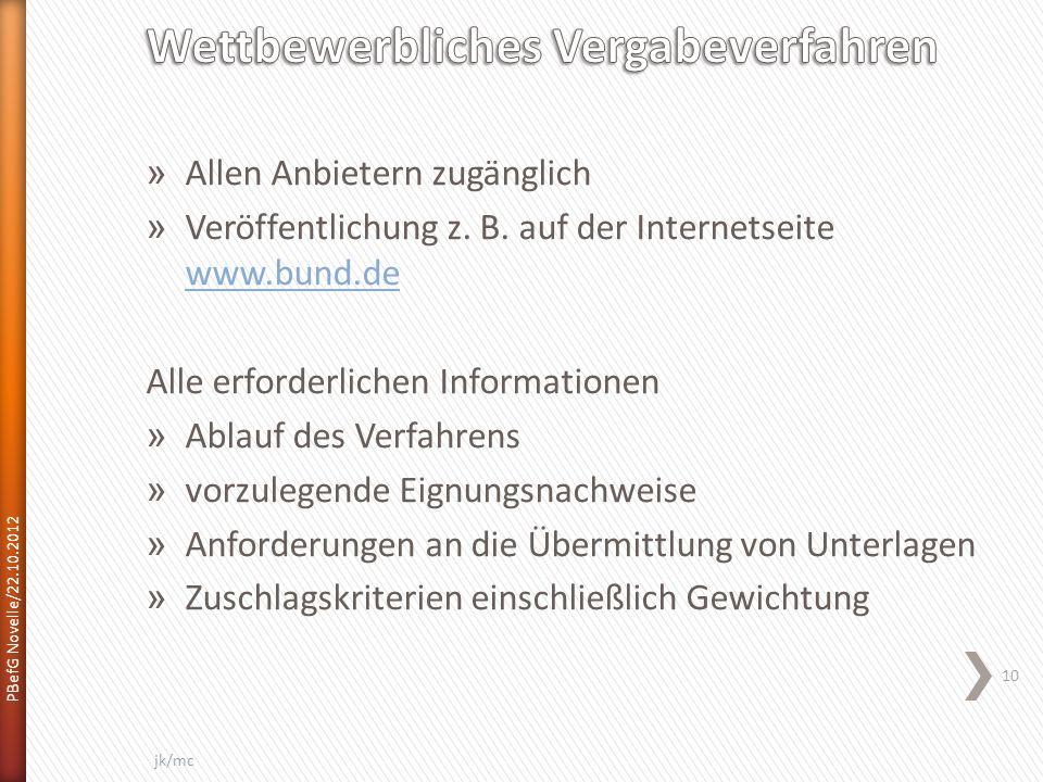» Allen Anbietern zugänglich » Veröffentlichung z.