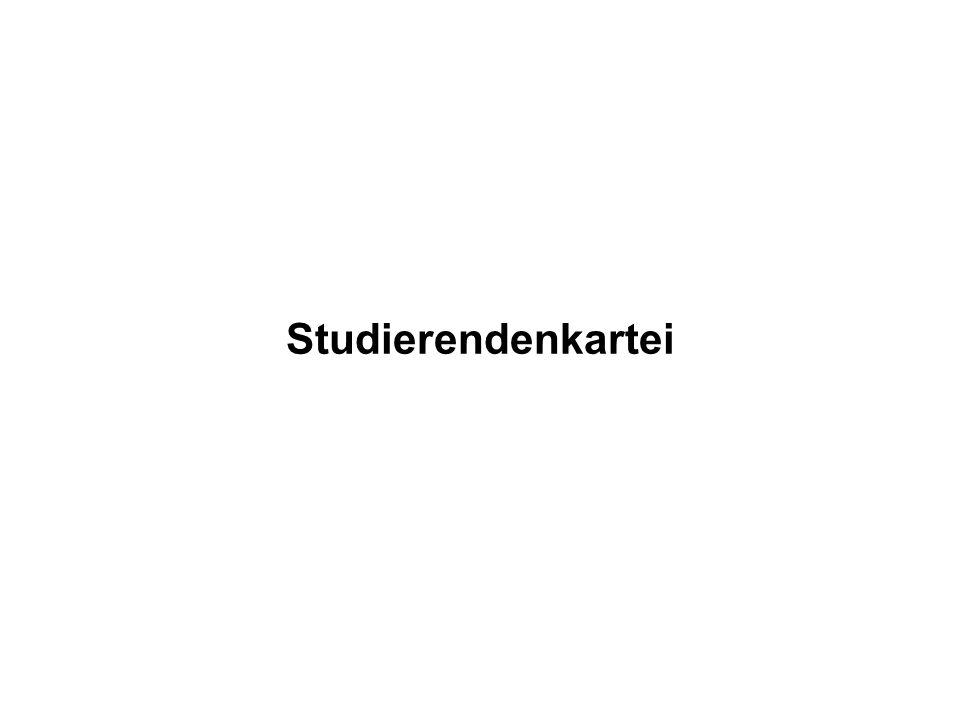 Studierendenkartei
