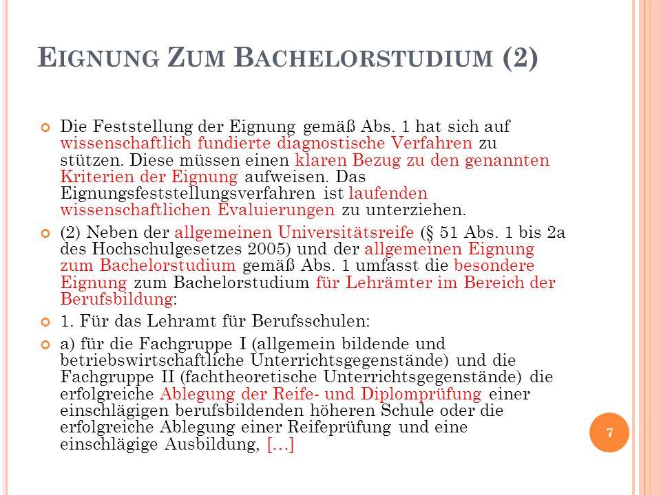 (3) Die Studienkommissionen haben durch Verordnungen festzulegen: 1.