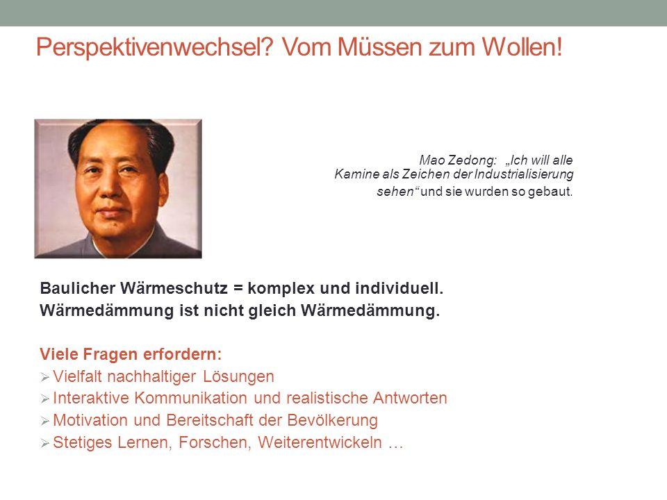 """Perspektivenwechsel? Vom Müssen zum Wollen! Mao sagte: Mao Zedong: """"Ich will alle Kamine als Zeichen der Industrialisierung sehen"""" und sie wurden so g"""