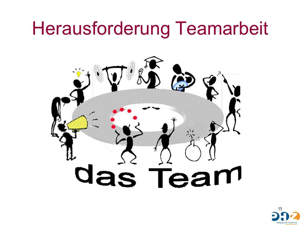 Herausforderung Teamarbeit 15