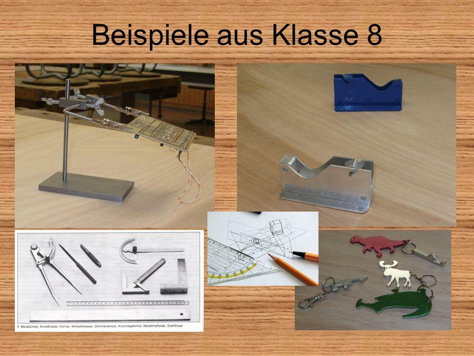 Beispiele aus Klasse 8
