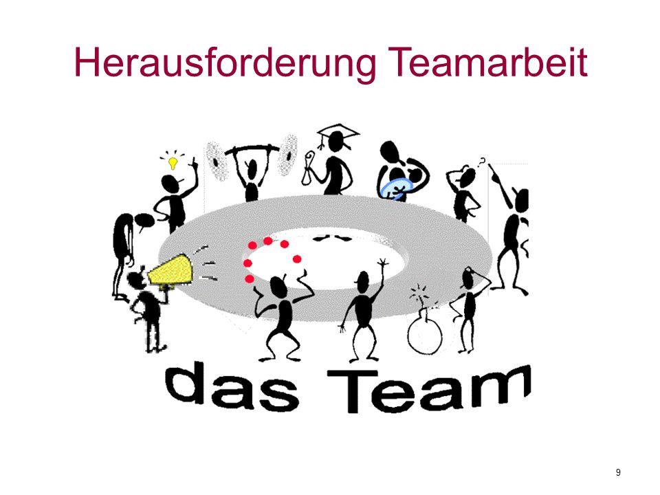 Herausforderung Teamarbeit 9