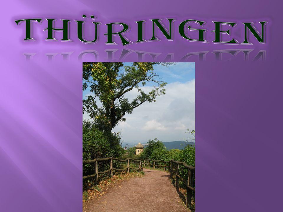 Der Freistaat Thüringen ist ein Land in der Bundesrepublik Deutschland.