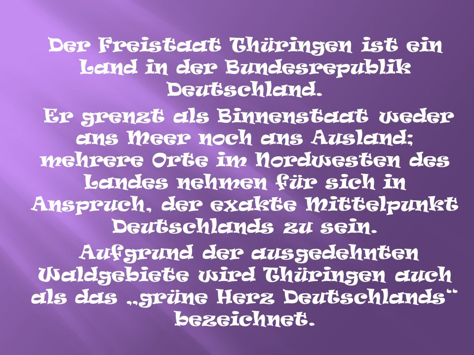 """Das Thüringer Landeswappen zeigt im lasurblauen Schild den viermal gleichbreit rot-silbern gestreiften, golden bewehrten und gekrönten """"Bunten Löwen der Ludowinger, umgeben von acht silbernen Sternen."""