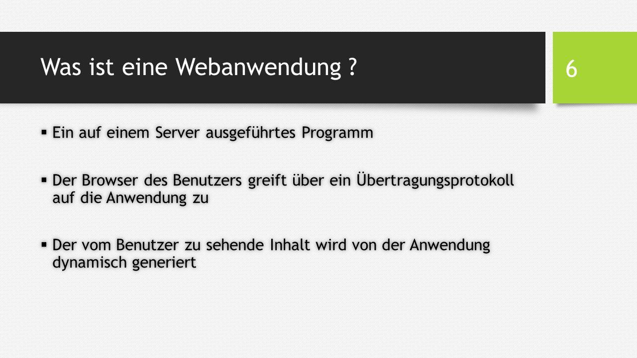 Sicherheit - Berechtigungshierarchie  Anpassen der Berechtigungen für die Ordner des Webservers  Unter den Eigenschaften eines Ordners gibt es unter Windows den Reiter Sicherheit, um Lese- und Schreibberechtigung für Benutzer festzulegen  Grundsätzlich soll ein Benutzer keine Lese- bzw.