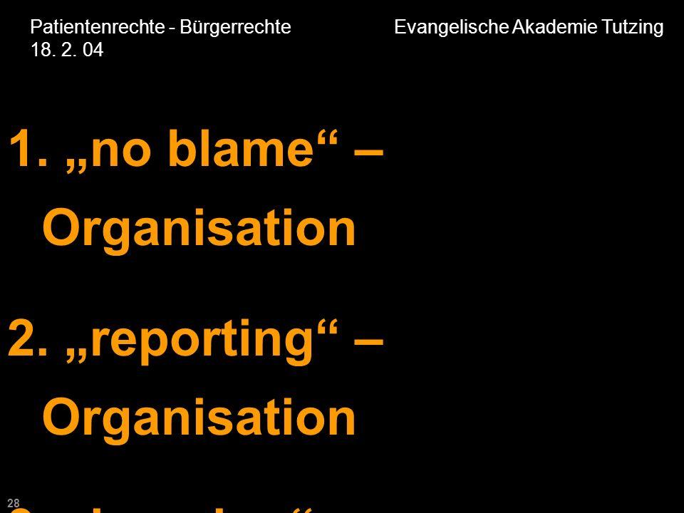 28 Patientenrechte - Bürgerrechte Evangelische Akademie Tutzing 18.