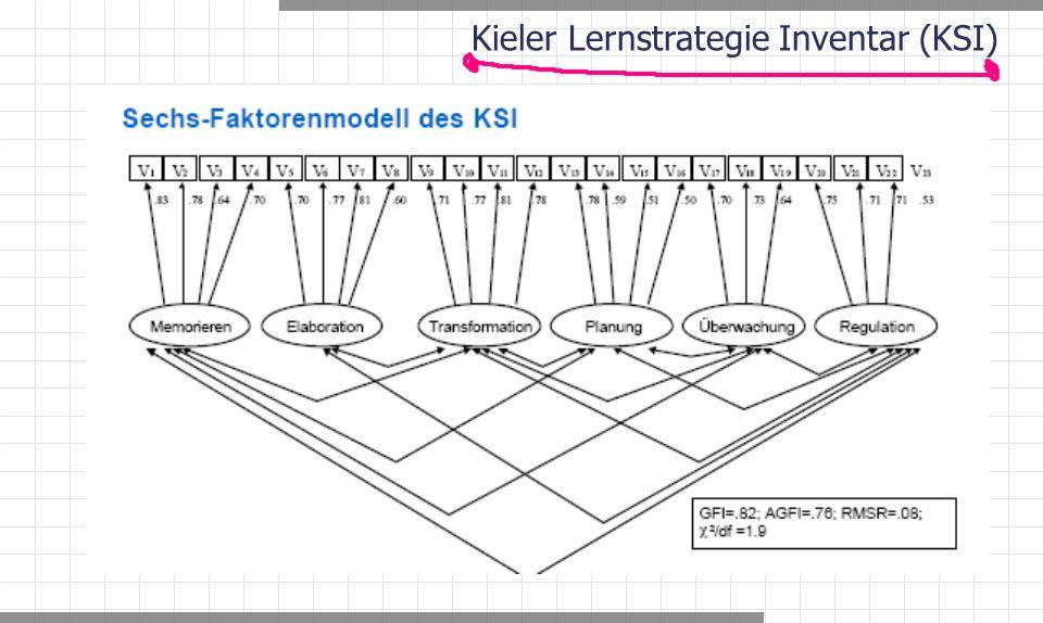Kieler Lernstrategie Inventar (KSI)