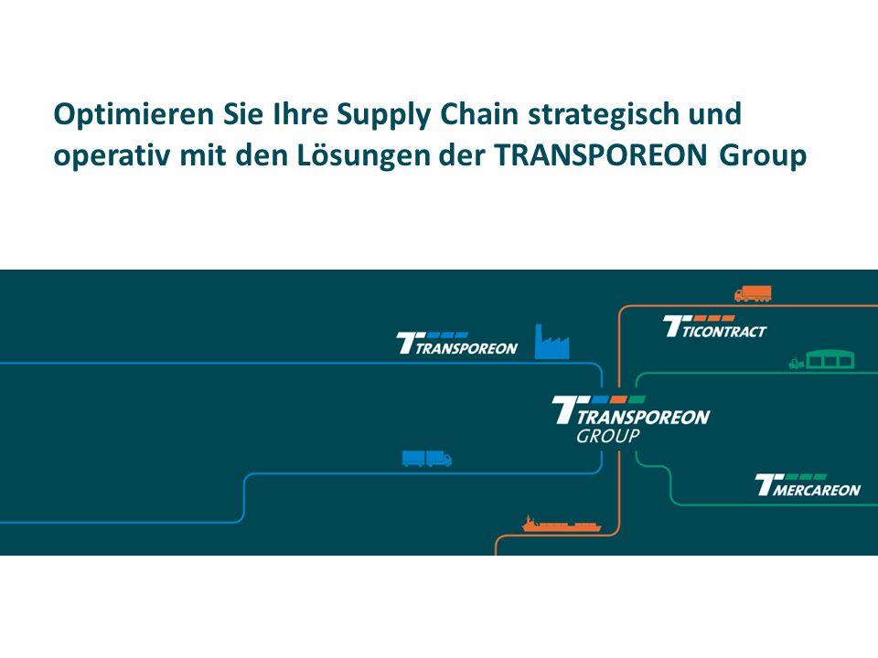 Optimieren Sie Ihre Supply Chain strategisch und operativ mit den Lösungen der TRANSPOREON Group