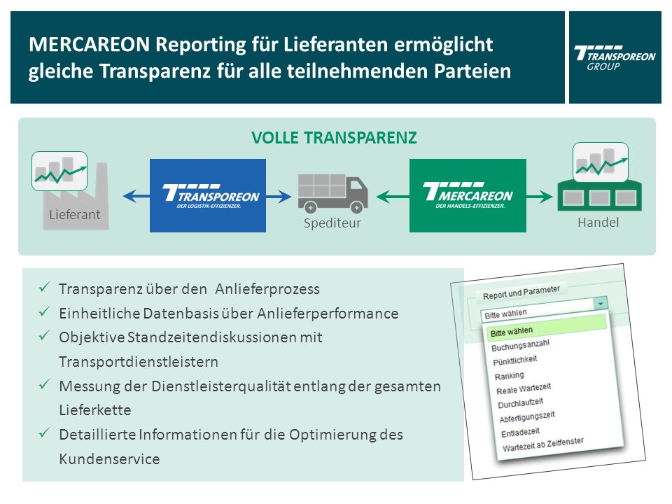 Referenzen TRANSPOREON