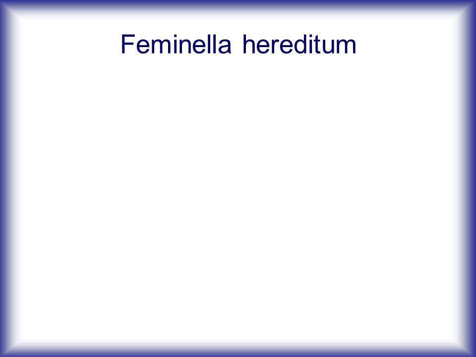 Feminella hereditum
