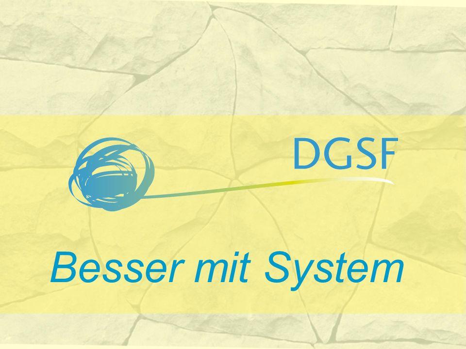 www.dgsf.org Informieren Mitmachen.