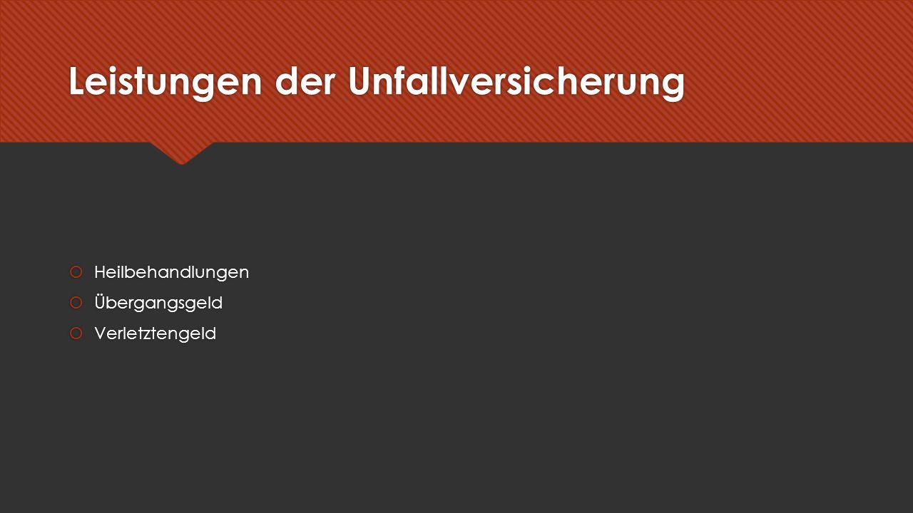 Quellen  http://wirtschaftslexikon.gabler.de/Archiv/55017/sozialversicherung-v12.html (Gabler Wirtschaftslexikon) http://wirtschaftslexikon.gabler.de/Archiv/55017/sozialversicherung-v12.html  http://www.zum.de/Faecher/kurse/boeing/udb/recht/Sozialversicherung-Ueberblick.pdf (Aktueller Überblick über das Wichtigste aus den Sozialversicherungen von Norbert Böing) http://www.zum.de/Faecher/kurse/boeing/udb/recht/Sozialversicherung-Ueberblick.pdf  http://wirtschaftslexikon.gabler.de/Archiv/55017/sozialversicherung-v12.html (Gabler Wirtschaftslexikon) http://wirtschaftslexikon.gabler.de/Archiv/55017/sozialversicherung-v12.html  http://www.zum.de/Faecher/kurse/boeing/udb/recht/Sozialversicherung-Ueberblick.pdf (Aktueller Überblick über das Wichtigste aus den Sozialversicherungen von Norbert Böing) http://www.zum.de/Faecher/kurse/boeing/udb/recht/Sozialversicherung-Ueberblick.pdf