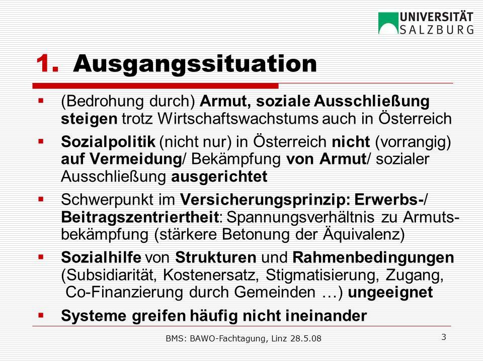 BMS: BAWO-Fachtagung, Linz 28.5.08 4 2.