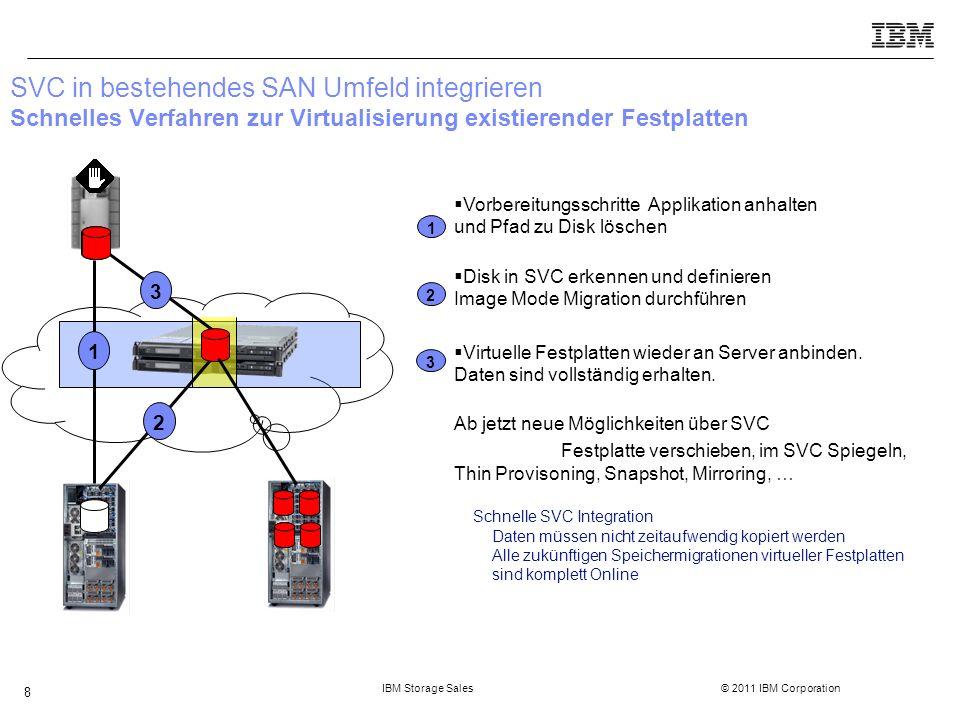 IBM Storage Sales © 2011 IBM Corporation 29 Agenda  Storwize V7000 Software  Storwize V7000 Hardware  Lösungsbeispiel