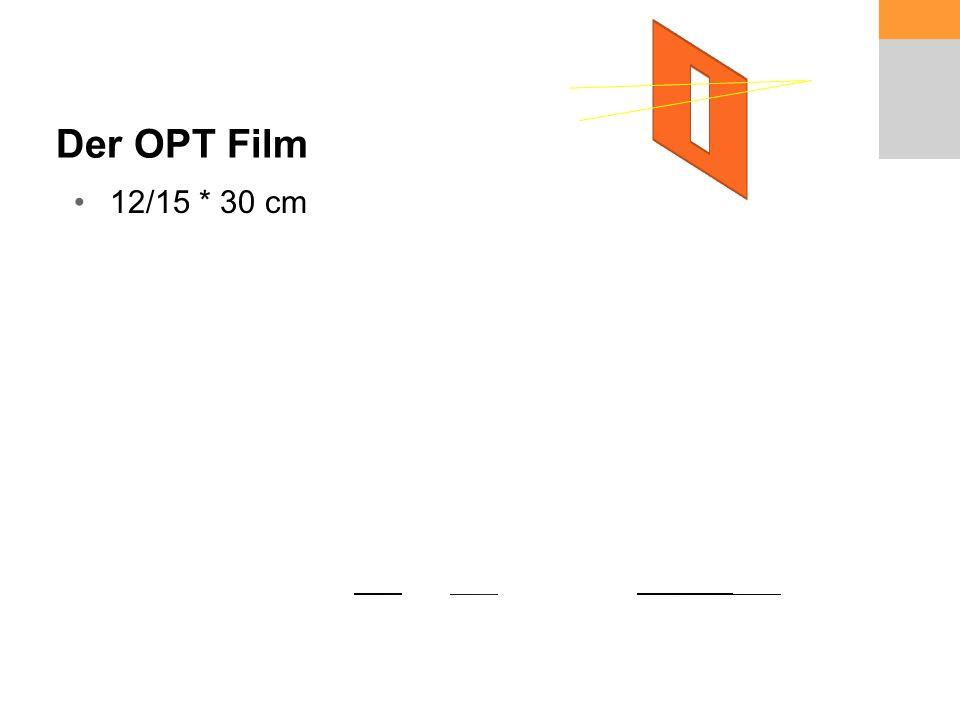 Der OPT Film 12/15 * 30 cm