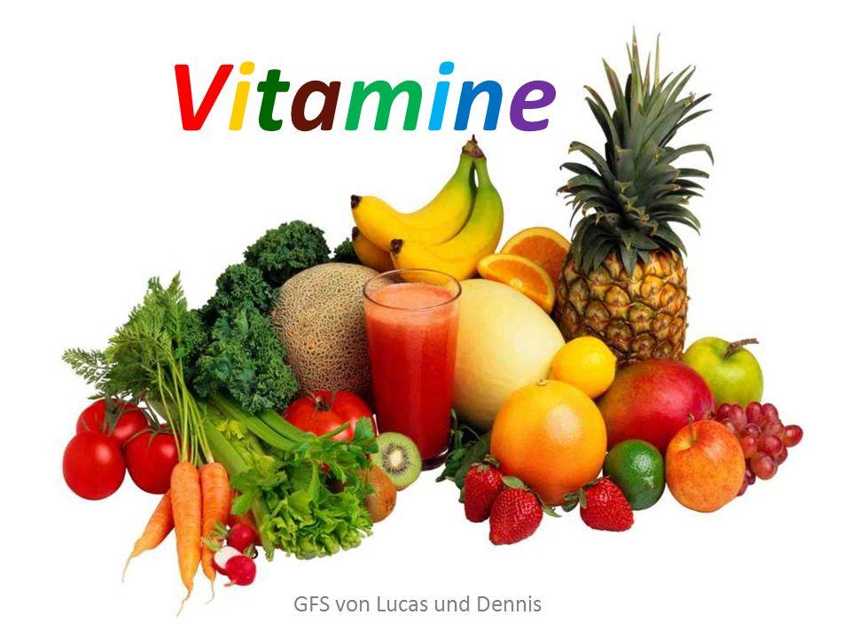 Gliederung Allgemeines Entdeckung der Vitamine Wichtigste Vitamine Hypervitaminose Hypovitaminose Quellen