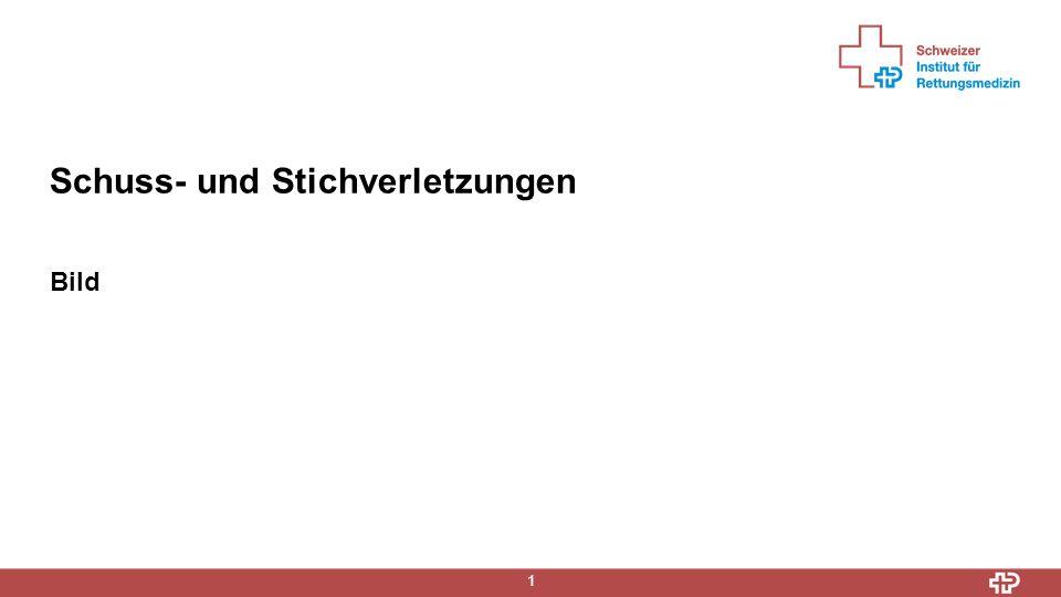 Information 2  Ausmass von Stich- und Schussverletzungen von Aussen häufig schwer einzuschätzen  Eigenschutz geht vor- Polizei frühzeitig aufbieten (auch für Spurenschutz)  Fremd- und Eigenverschulden möglich (Suizid, Unfall, Delikt)  Suizide mit Schusswaffen werden in der Schweiz hauptsächlich von Männern begangen (fast ¼ der Suizide durch Erschiessen)