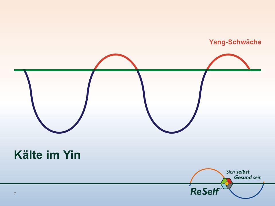 Kälte im Yin 7 Yang-Schwäche