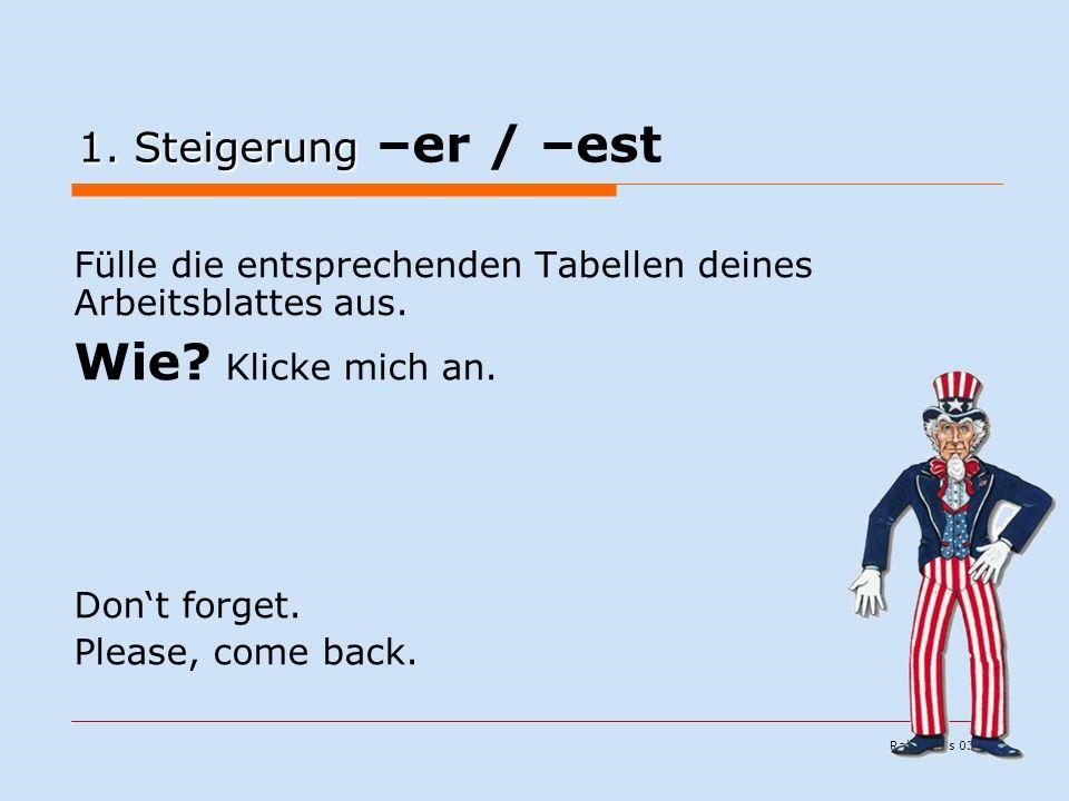 Ralf Kuchs 03/06 1. Steigerung 1.