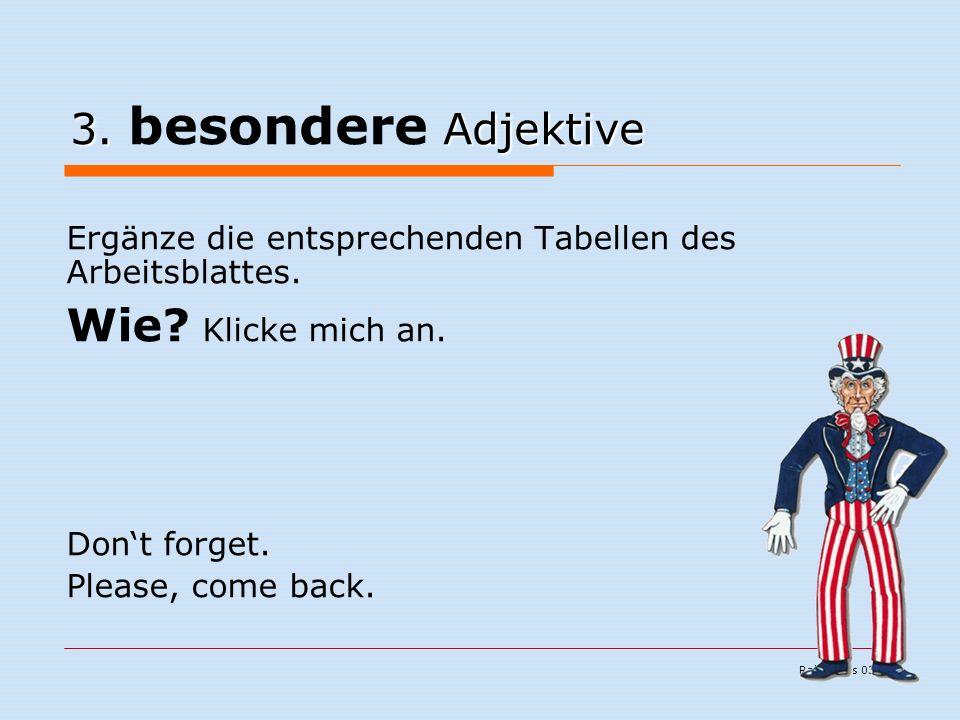 Ralf Kuchs 03/06 3. Adjektive 3.