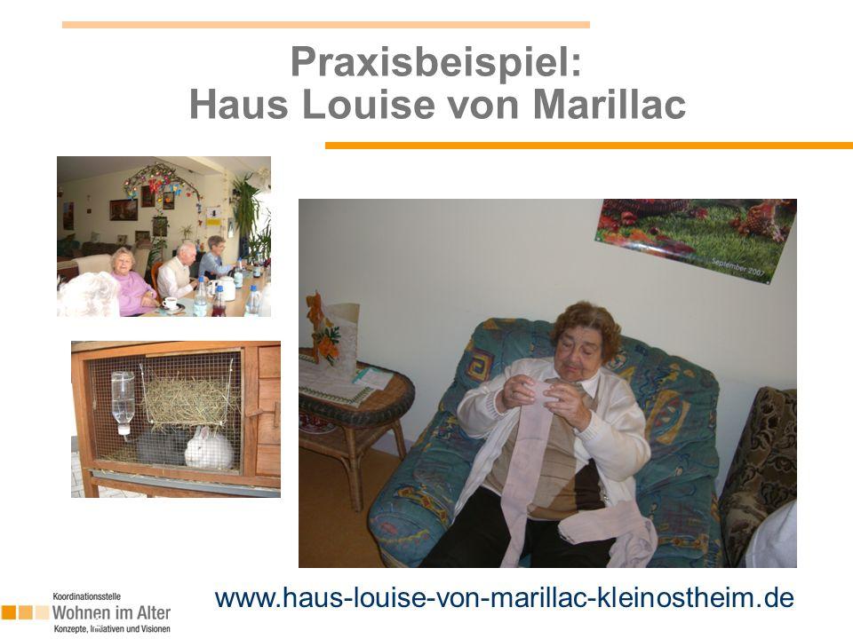 12 Praxisbeispiel: Haus Louise von Marillac www.haus-louise-von-marillac-kleinostheim.de