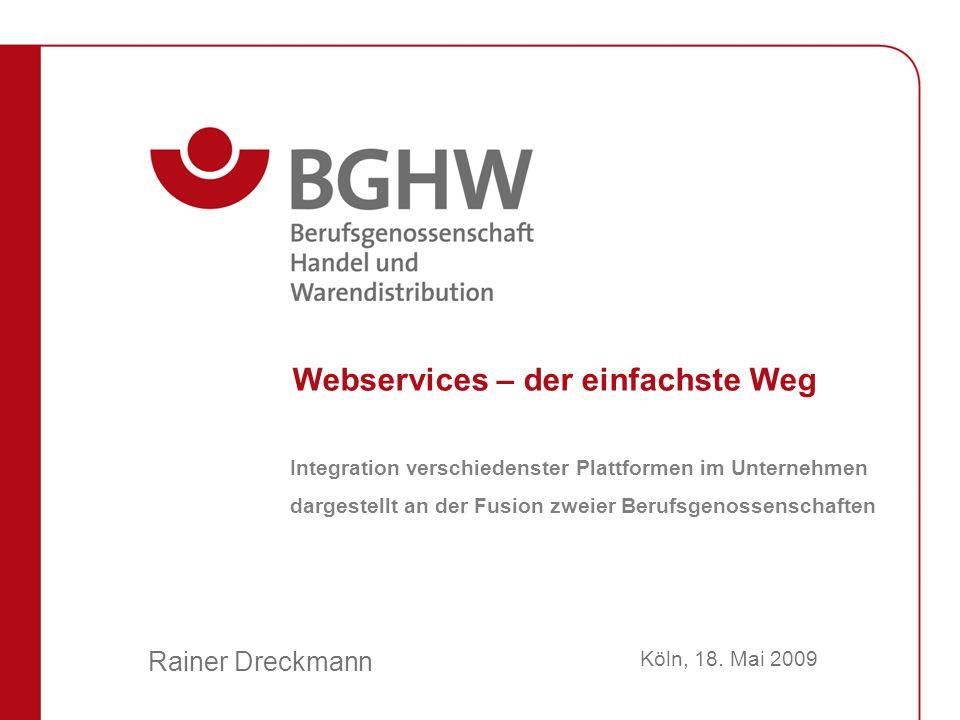 Rainer Dreckmann Webservices – der einfachste Weg Köln, 18.
