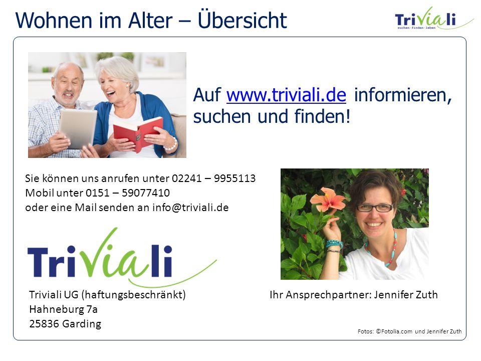 Wohnen im Alter – Übersicht Auf www.triviali.de informieren,www.triviali.de suchen und finden.