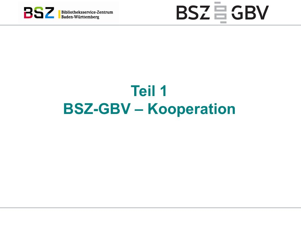 13 GBV: Ein Titelsatz pro E-Book E-Book-Anbieter CBS BSZ E-Book-Pool RDA konform normiert CBS GBV Bibliothek E-Book-Pool: Ein Titelsatz pro Anbieter BSZ VZG BSZ: Ein Titelsatz pro Anbieter EBM-Tool Verfügbarkeit Bestellung Nachweise Marc21 Volker Conradt | Kooperation BSZ-VZG (GBV) und CBDZ | InetBib Stuttgart | 11.02.2016 E-Book-Pool / EBM-Tool