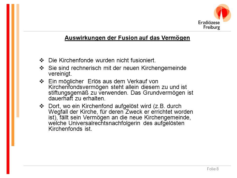 Folie 29 Vermögensverwaltungsaufsicht B) Was ist Sinn und Zweck der kirchlichen Vermögensverwaltungsaufsicht.