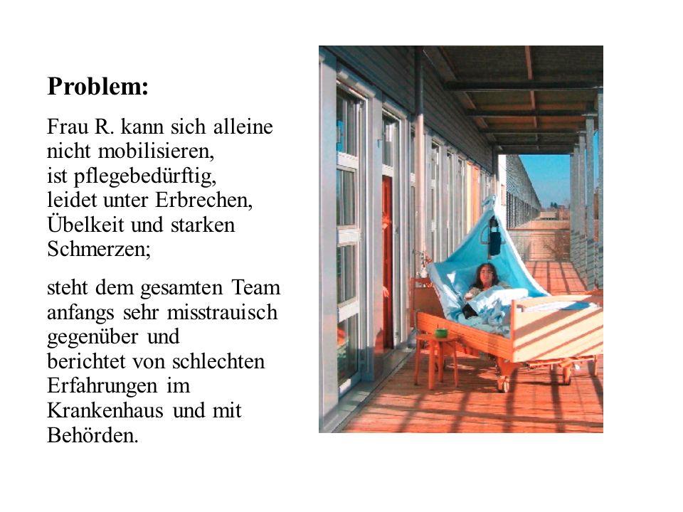 Problem: Frau R.