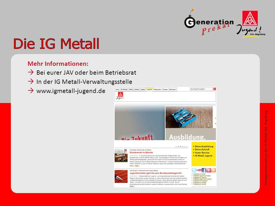 Ortsjugendausschuss der IG Metall Vst.