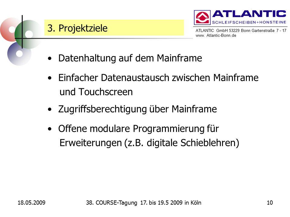 ATLANTIC GmbH 53229 Bonn Gartenstraße 7 - 17 www. Atlantic-Bonn.de 18.05.20091038.