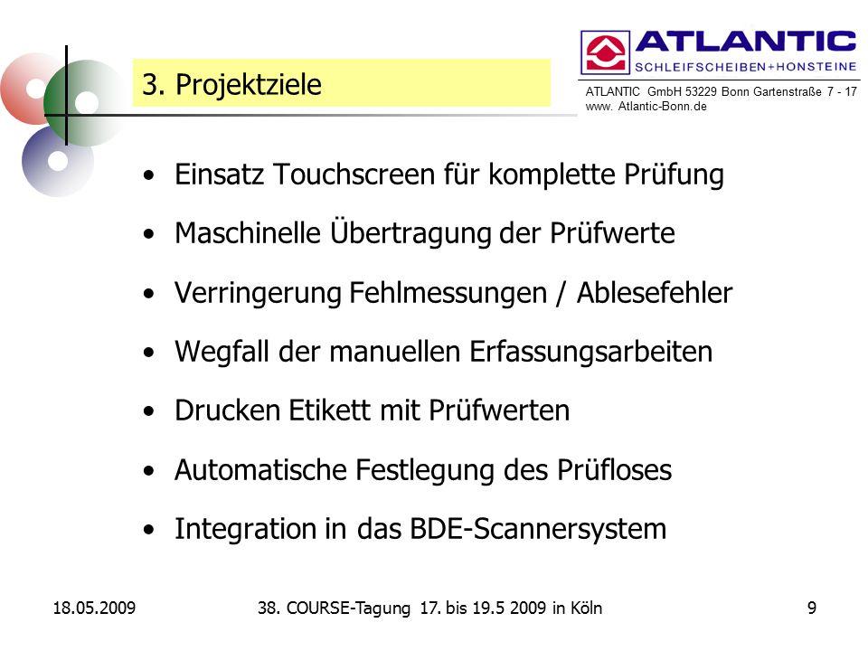 ATLANTIC GmbH 53229 Bonn Gartenstraße 7 - 17 www. Atlantic-Bonn.de 18.05.2009938.