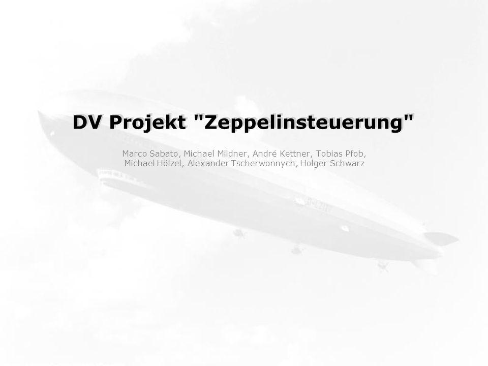 DV Projekt Zeppelinsteuerung Marco Sabato, Michael Mildner, André Kettner, Tobias Pfob, Michael Hölzel, Alexander Tscherwonnych, Holger Schwarz