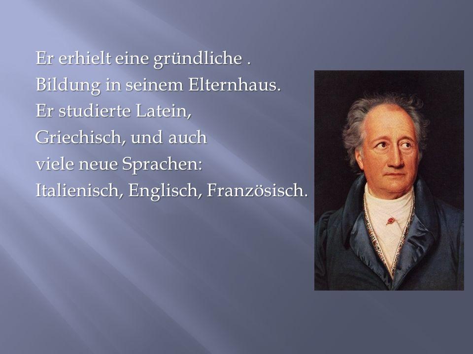 Im Jahre 1821 erschien seine erste Gedichtsammlung, die als Buch der Lieder bekannt ist.