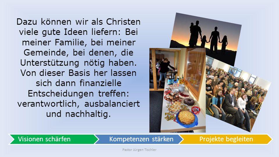 Pastor Jürgen Tischler Sind meine Investitionen sicher.
