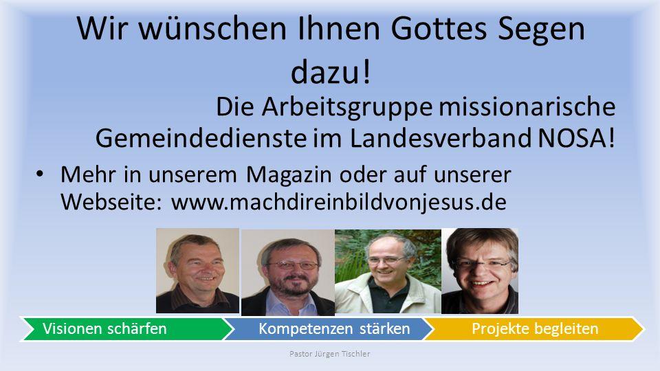"""Lassen Sie sich in """"in die Karten schauen ! Pastor Jürgen Tischler"""