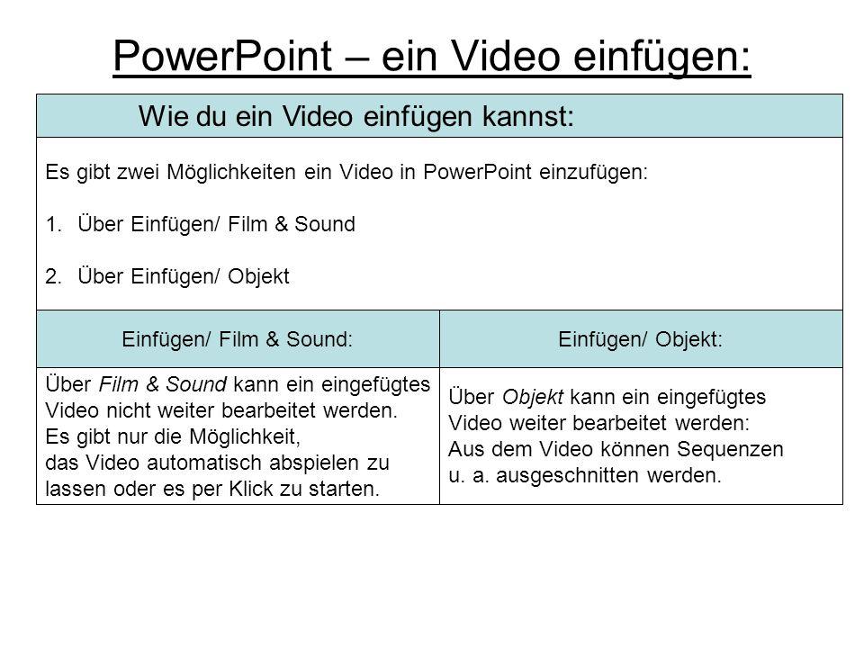 Animationen: Benutzerdefinierte Animationen II Reihenfolge & zeitlicher Ablauf: Hier können die animierten Textfelder/ Objekte in ihrer Reihenfolge un
