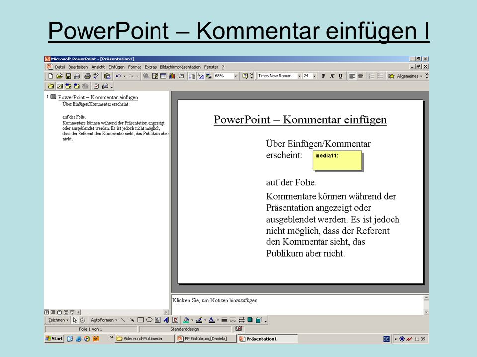 PowerPoint – digitales Video wählen  Digitale Videos besitzen unterschiedliche Formate.